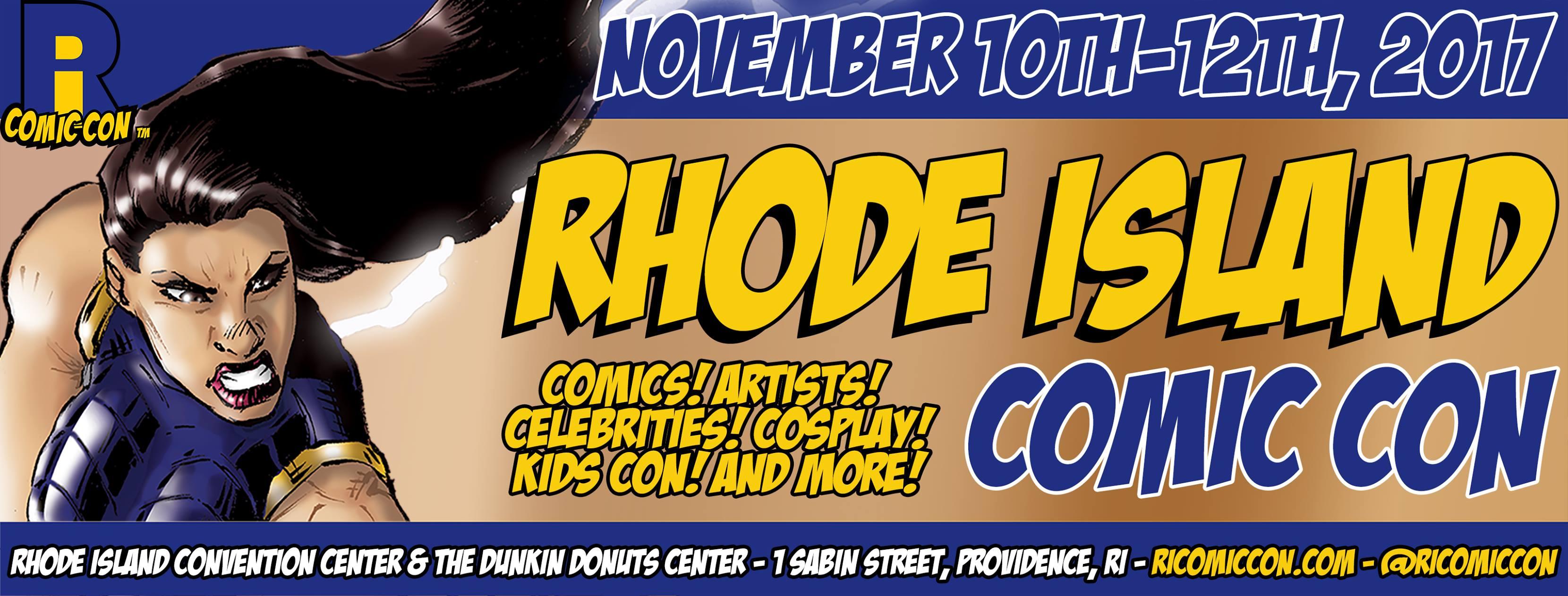 Recapping Rhode Island Comic Con 2017