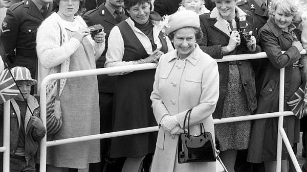 Mai 1965: Die Queen und ich