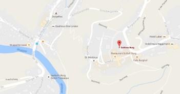 Map: Schloss Burg