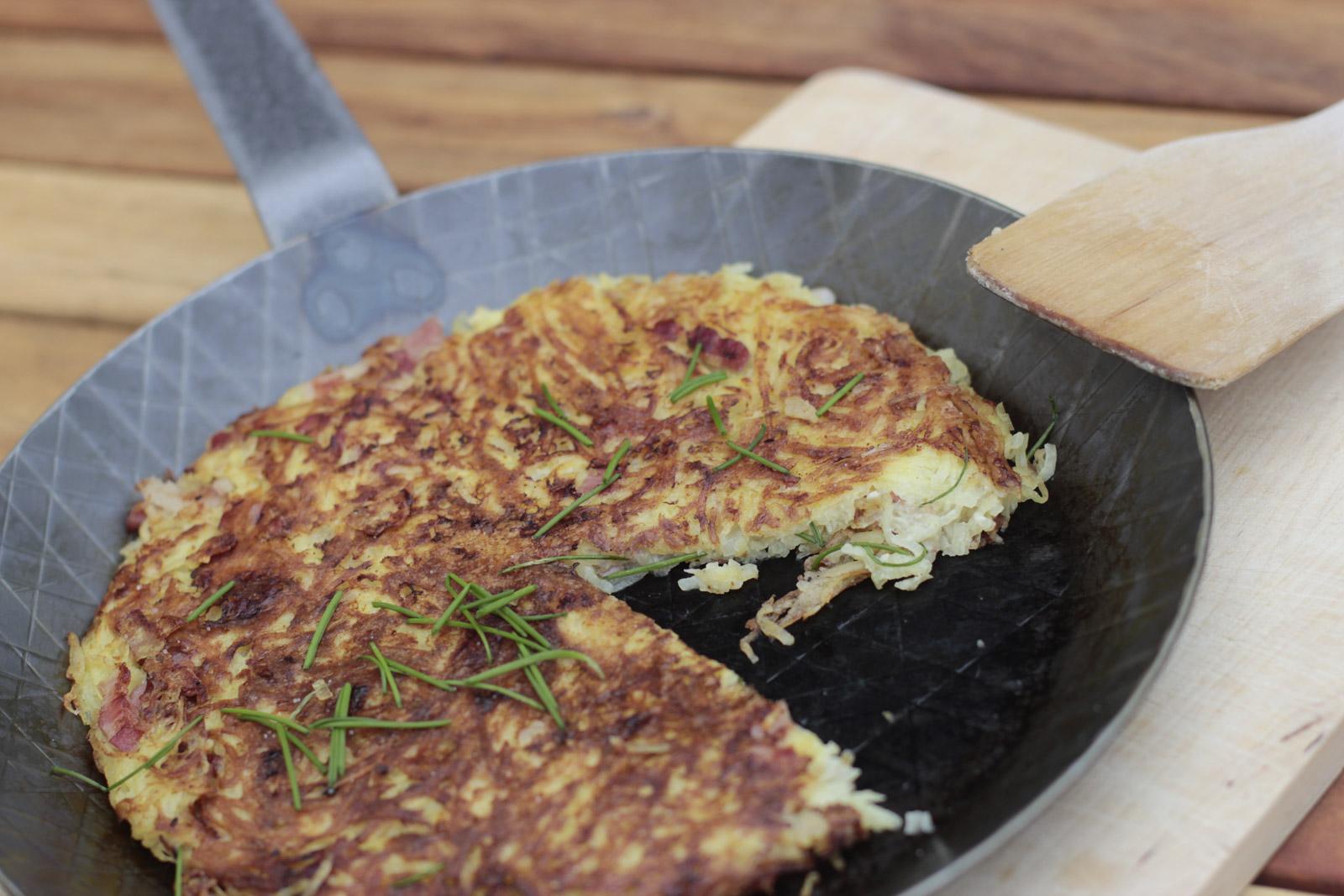 Pillekuchen (Foto: Spargelhof Lövenich)