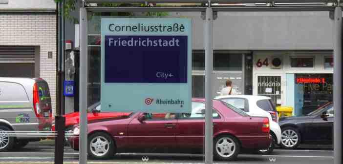 Corneliusstraße - die Giftmeile der Stadt (eigenes Foto)