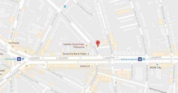 Google-Map: Barbarossaplatz