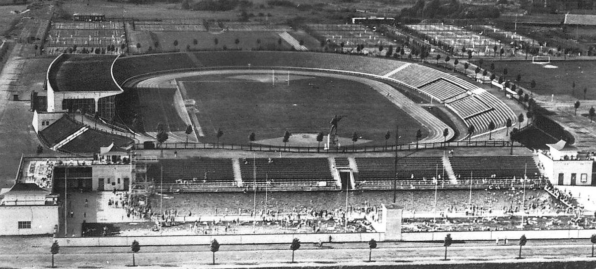 Rheinstadion Düsseldorf ca. 1955