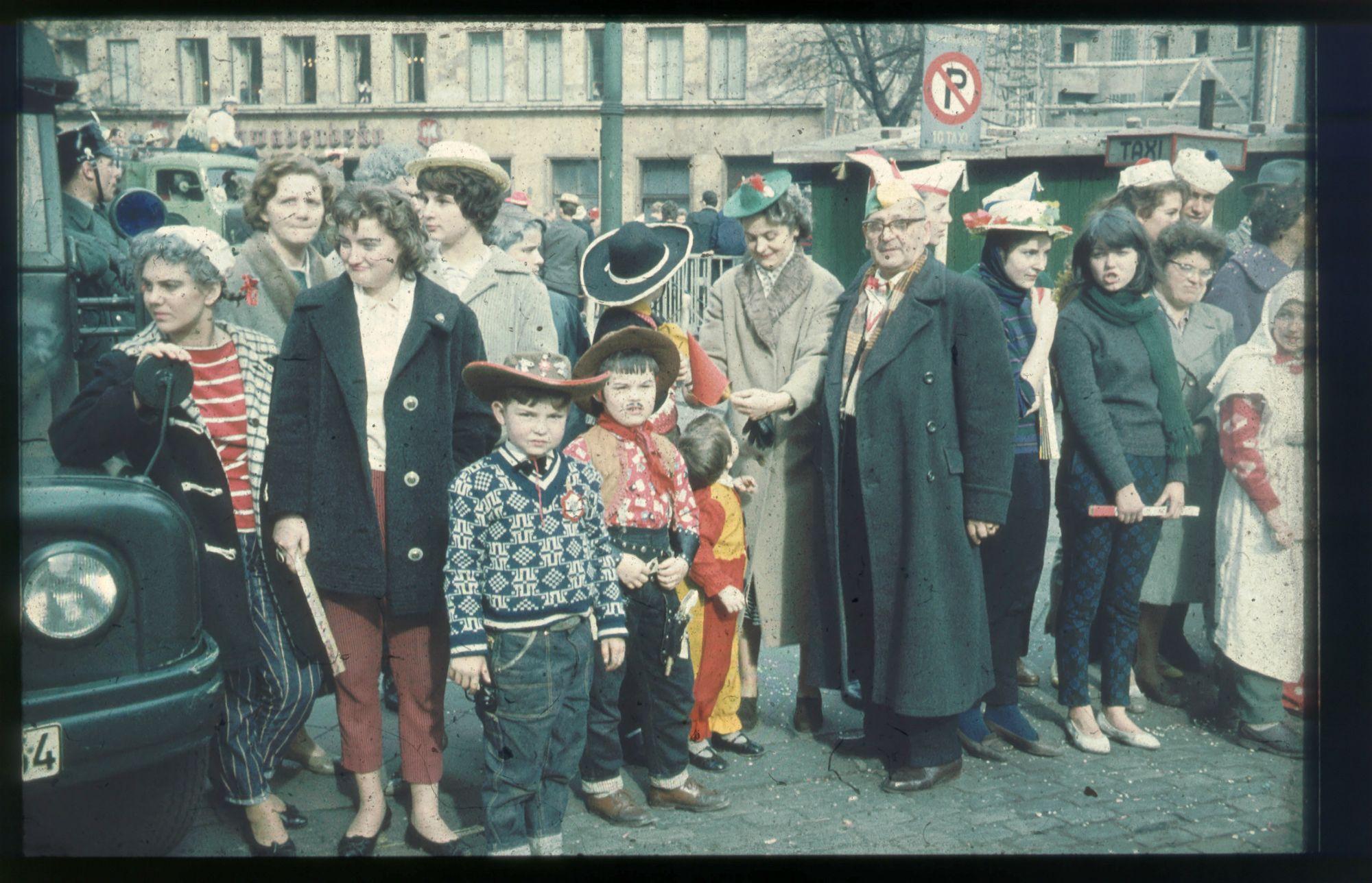 Alte Dias: Rosenmontagszug 1961