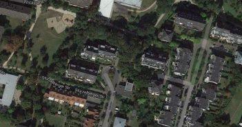 Google Maps: Radrennbahn Lörick