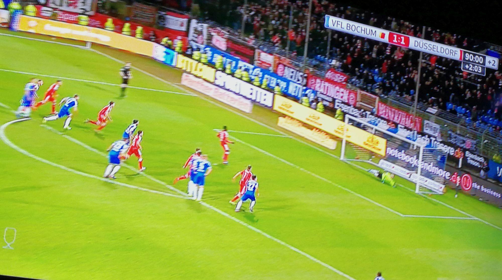 Bochum vs F95 1:2 - Bebous Elfer