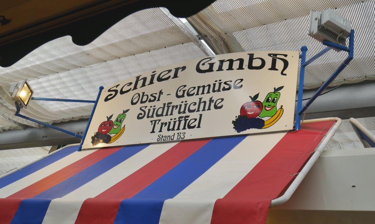 Obst & Gemüse vom Feinsten bei Schier auf dem Carlsplatz
