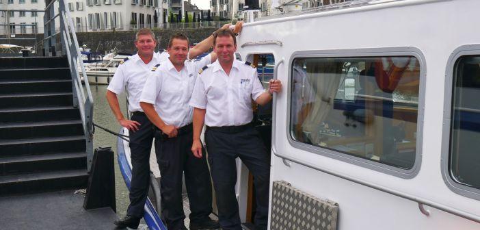 Die drei Hauptkommissare Michael Blankartz (44), Daniel Toth (41) und Manfred Dunz (52) (v.l.n.r.)