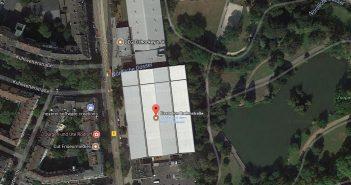 Google-Map: Das Eisstadion an der Brehmstraße