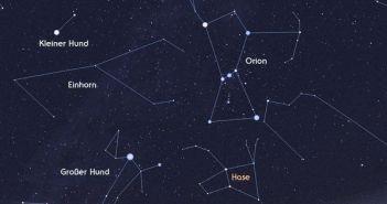 """Das Sternbild """"Orion"""" - möglicherweise Ursprung des gezeigten Reliefs"""