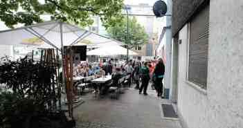 Bilker Häzz - die Terrasse an der Jahnstraße