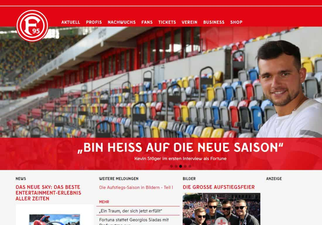 Stöger kommt auch... (Screenshot: f95.de)