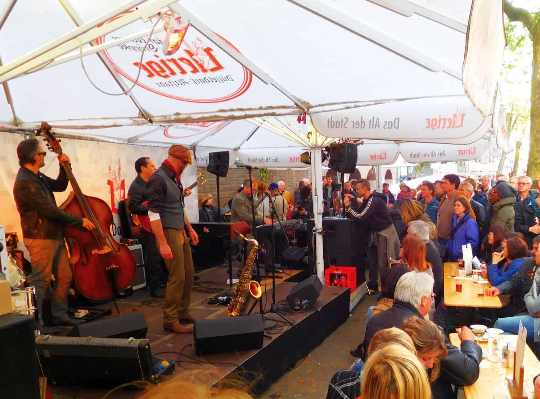 Jazz-Rally: Heiße Musik nicht nur am Uerige (Foto aus 2016)