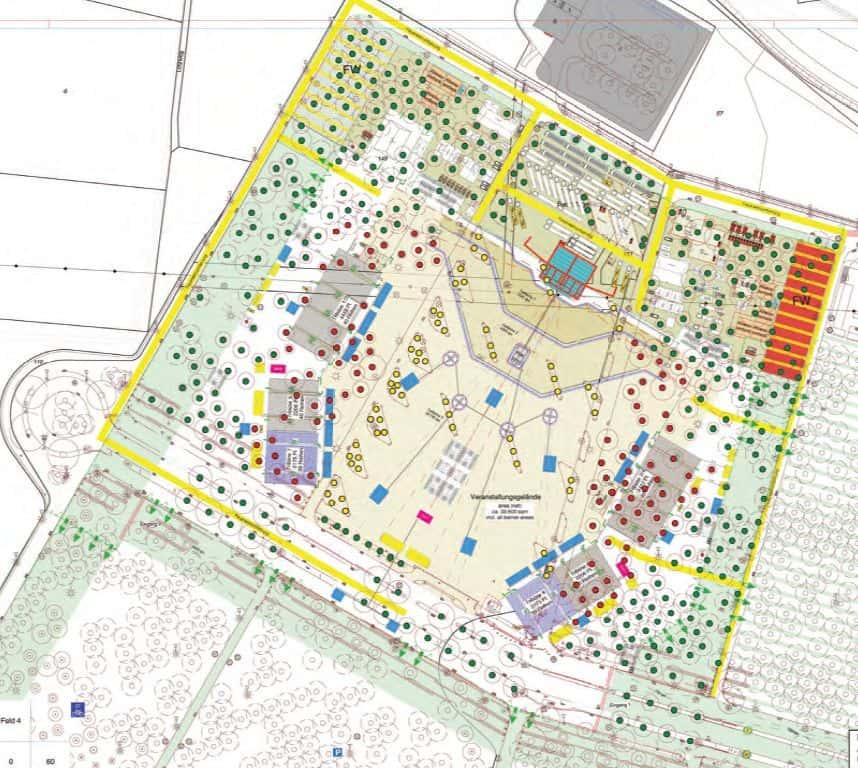 D.Live Open-Air-Park - der offfizielle Plan