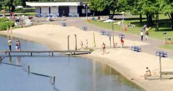 Ein attraktives Strandbad in Duisburg-Wedau (Foto: freibad-wolfssee.de)