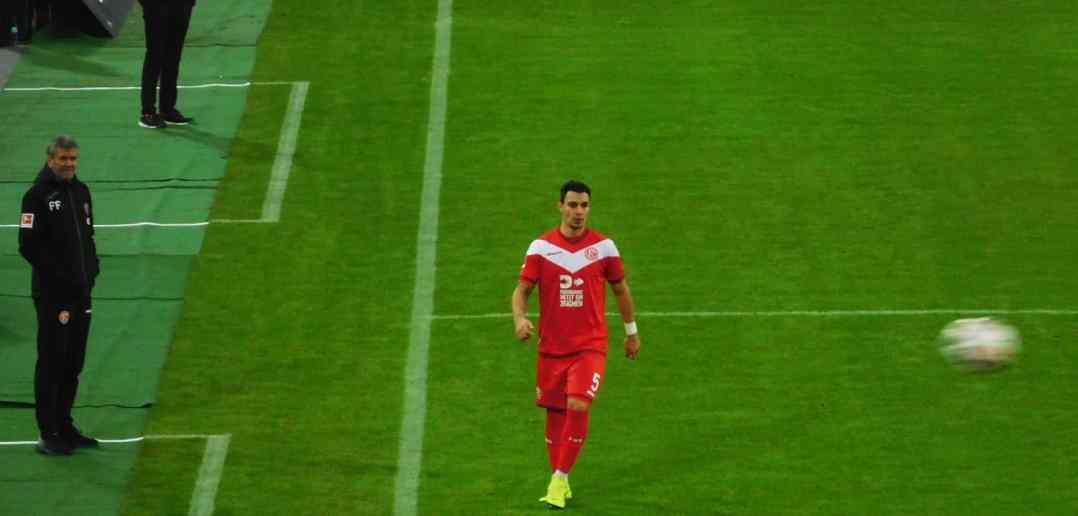 F95 vs Freiburg: Funkel, Ayhan, Ball