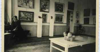 Die Galerie in der Wohnung an der Hofgartenstraße