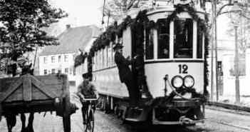 Die Rheinbahn richtete eine eigene Linie G ein (im Bild die D aus jener Zeit - Foto: Rheinbahn)