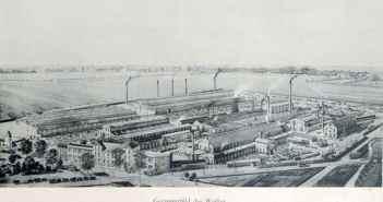 Die Maschinenfabrik Haniel & Lueg an der Grafenberger Allee (1899)