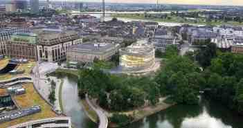 Möglicher Neubau der Oper am alten Platz (Illustration: Projektschmiede)