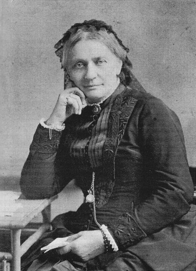 Clara Schumann im Alter (Foto: Wikimedia)