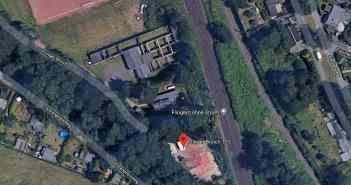 Google-Map: F:O:A im äußersten Zipfel des Flinger Broichs