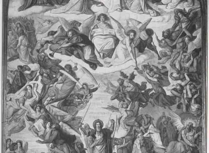 Altarfresko von Peter von Cornelius von 1840