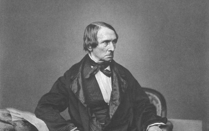 Peter von Cornelius (Foto von ca. 1850)