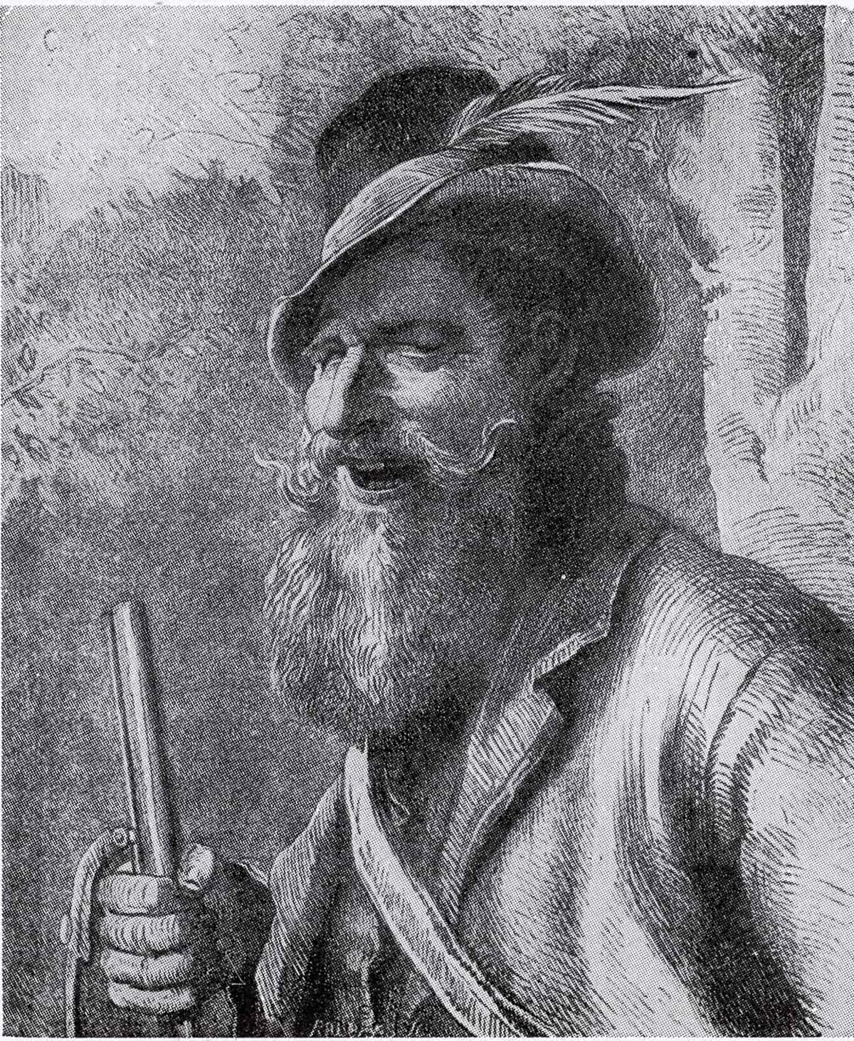 Johann Muckel, der Wilddieb, den sie einfach den Muggel nannten (Stich von Carl Maria Seyppel)