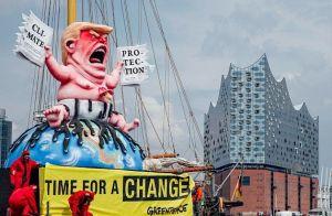 Tillys Wagen für Greenpeace für den G20-Gipfel in Hamburg