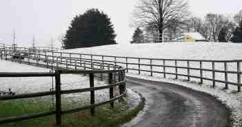 Schnee am Backesberg