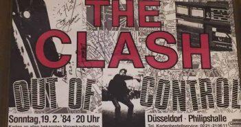 The Clash in der Philipshalle - das Ticket, eine Reliquie