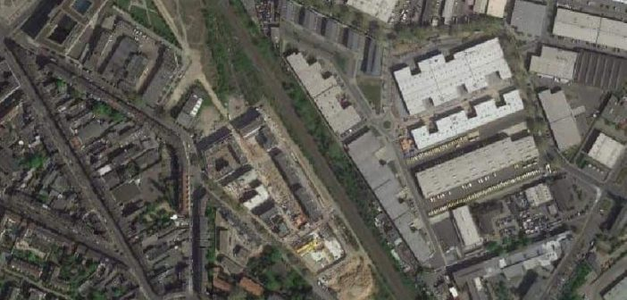 Google-Map: So groß war das Fabrikgelände der VKW