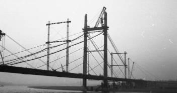 Die Kniebrücke im Bau - ein Hein-Lehmann-Projekt