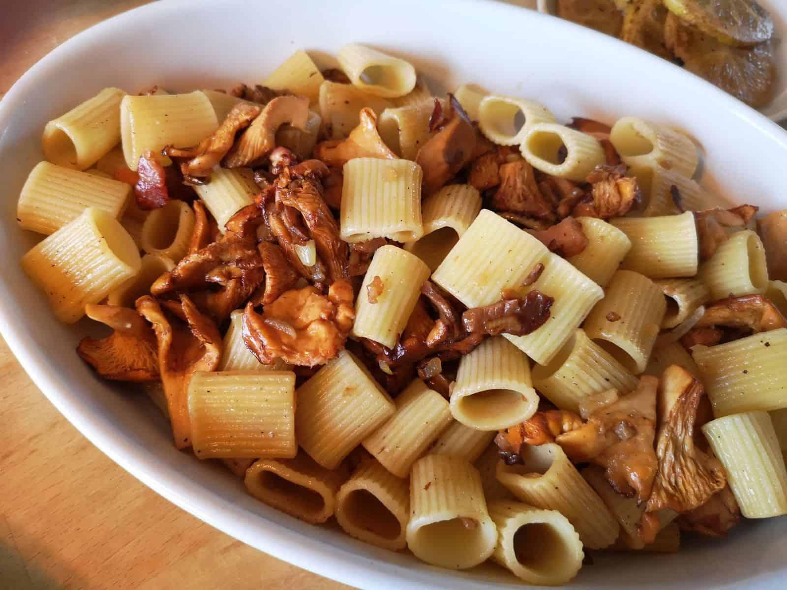 RdW: Pasta mit Pilzen
