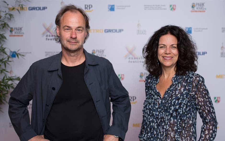 Christiane Oxenfort und Andreas Dahmen vom Düsseldorf Festival (Foto: Düsseldorf Festival)