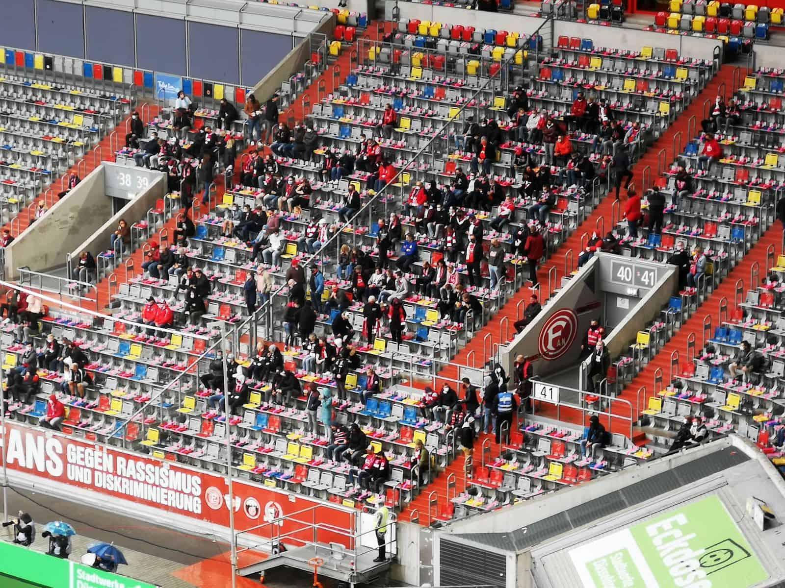 Gegen Würzburg im September: Zum letzten Mal mit Fans (Foto: TD)
