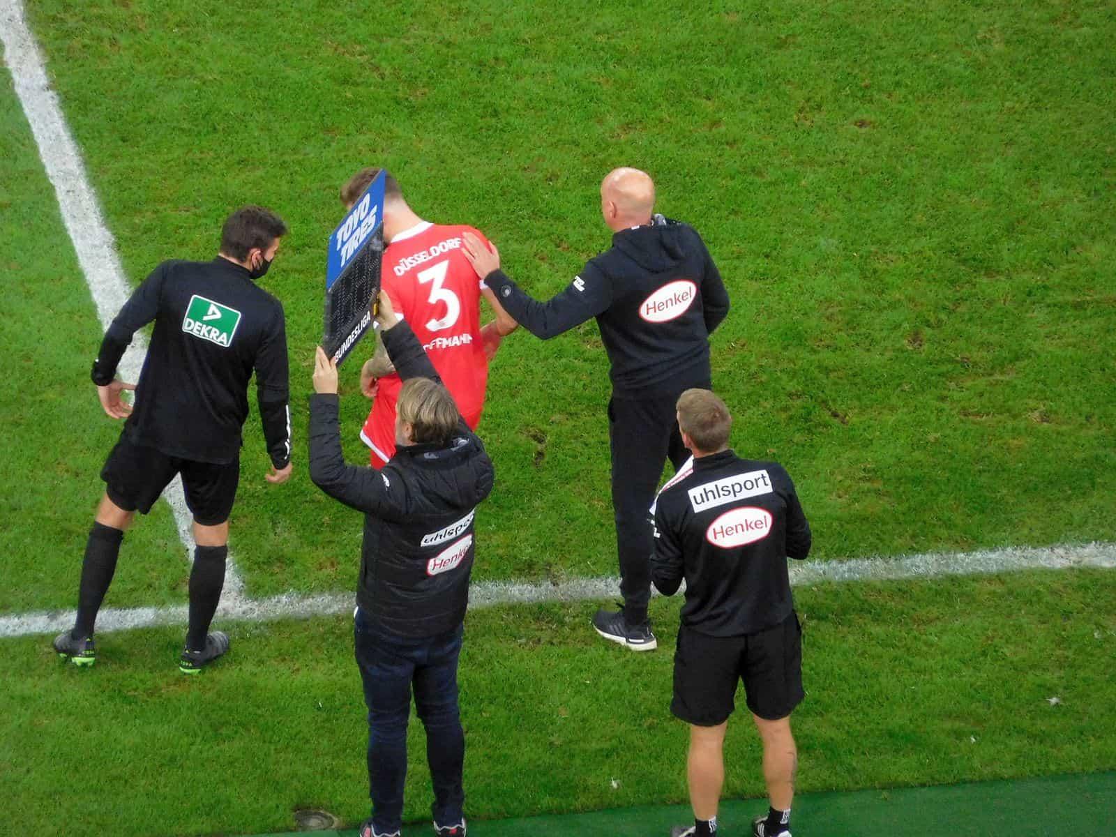 F96 vs HDH: Hoffmann kommt! (Foto: TD)