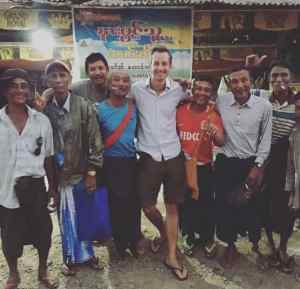 Borgo mit Fußball-Ultras in Myanmar (Foto: privat)