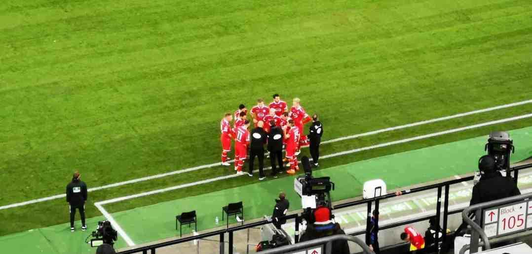 F95 vs Darmstadt: Die taktische Umstellung in der 20. Minute (Foto: The Düsseldorfer)