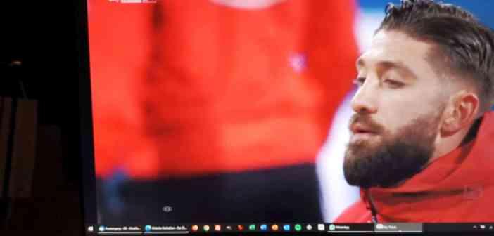 BTSV vs F95: Borrello - ein Fall für sich (Sky-Screenshot)