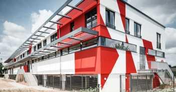 Das wunderschöne F95-Nachwuchsleistungszentrum am Flinger Broich (Foto: MEA Studio)