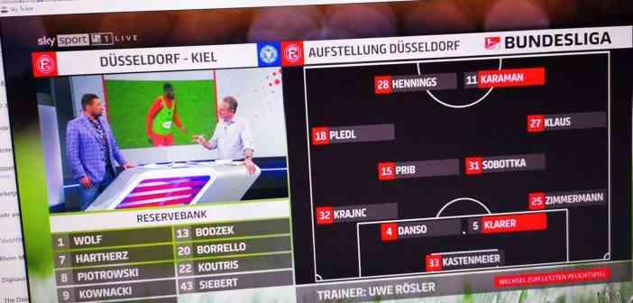 F95 vs Kiel: Die Aufstellung