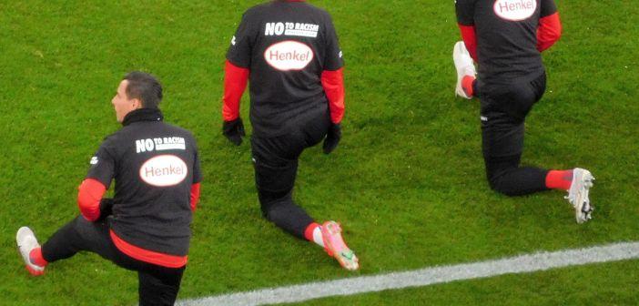 F95 vs Bochum: Das Bekenntnis zum Kampf gegen Rassismus (Foto: TD)