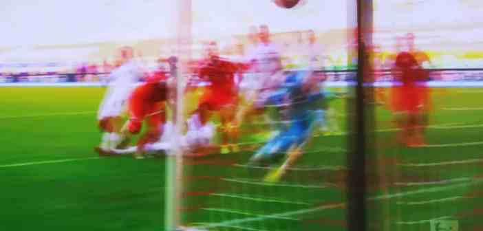 F95 vs Nürnberg: Das schöne 1:0 durch Andre Hoffmann (Screenshot: Sky)