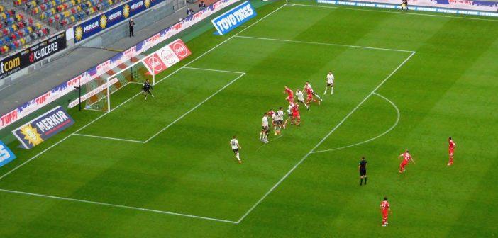 F95 vs St. Pauli: Freistoß für Fortuna, der nichts brachte (Foto: TD)