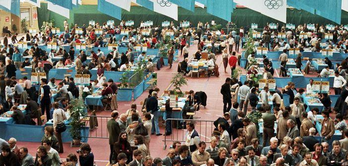 Schacholympiade 1982 in Luzern - ein Lebensereignis (Foto via Wikimedia)