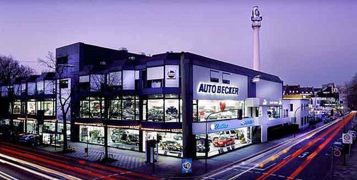 Auto Becker in den Glanzzeiten (Foto: Auto Becker)