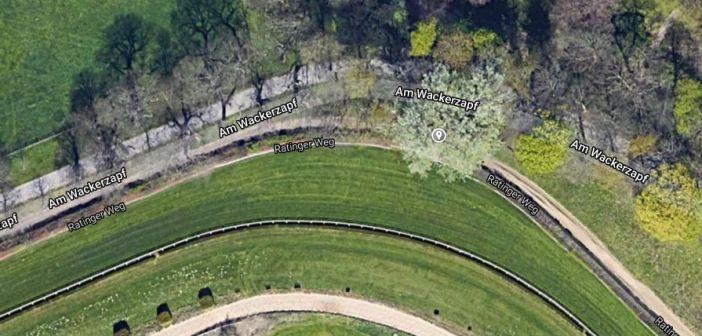 Google-Map: Die Lage des Kameraturms an der Galopprennbahn