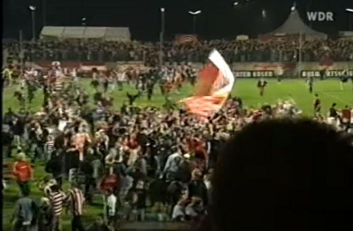 Aufstieg 2004: Nie mehr Oberliga (Screenshot: WDR-Bericht)